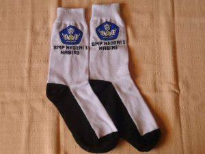 kaos kaki ,kaos kaki logo sekolah,instansi